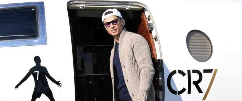 The Private Jets of Football Superstars